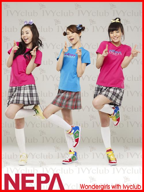 Wonder Girls SoHee SunMi SunYe