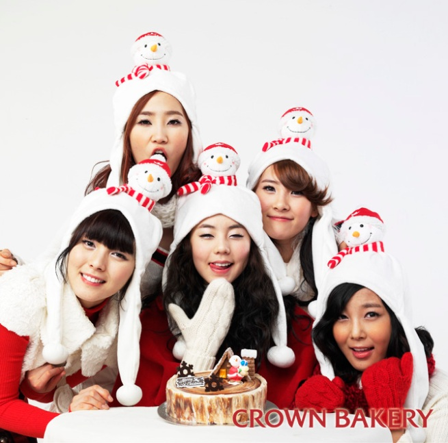 crown bakery wonder girls