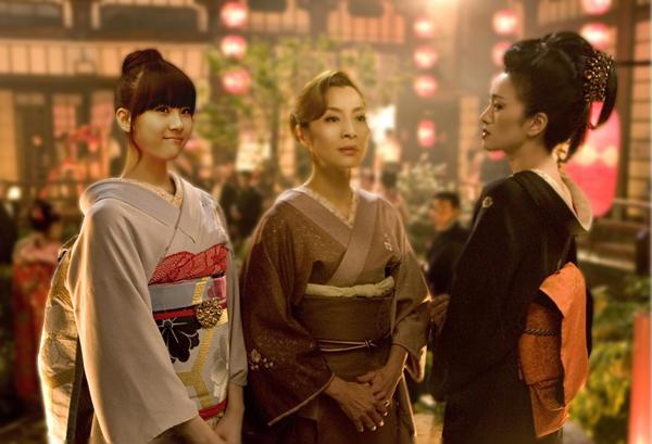 sunmi as sayuri in Memories of Geisha 1